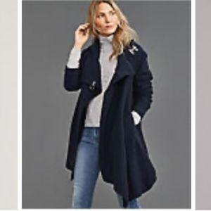 Garnet Hill asymmetrical coat